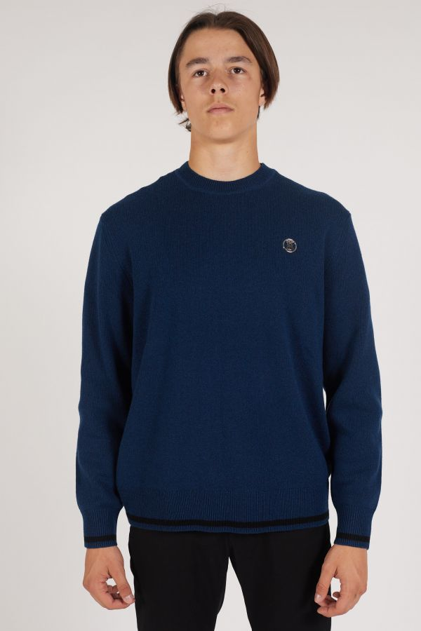 Belvoir jumper - Indigo blue