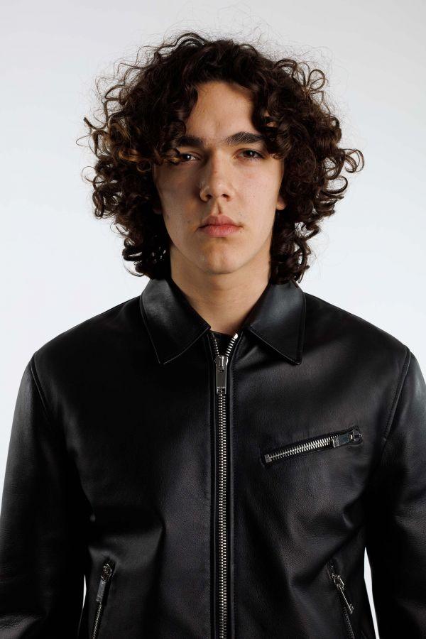 Off-White & Black Mix Tweed Jacket