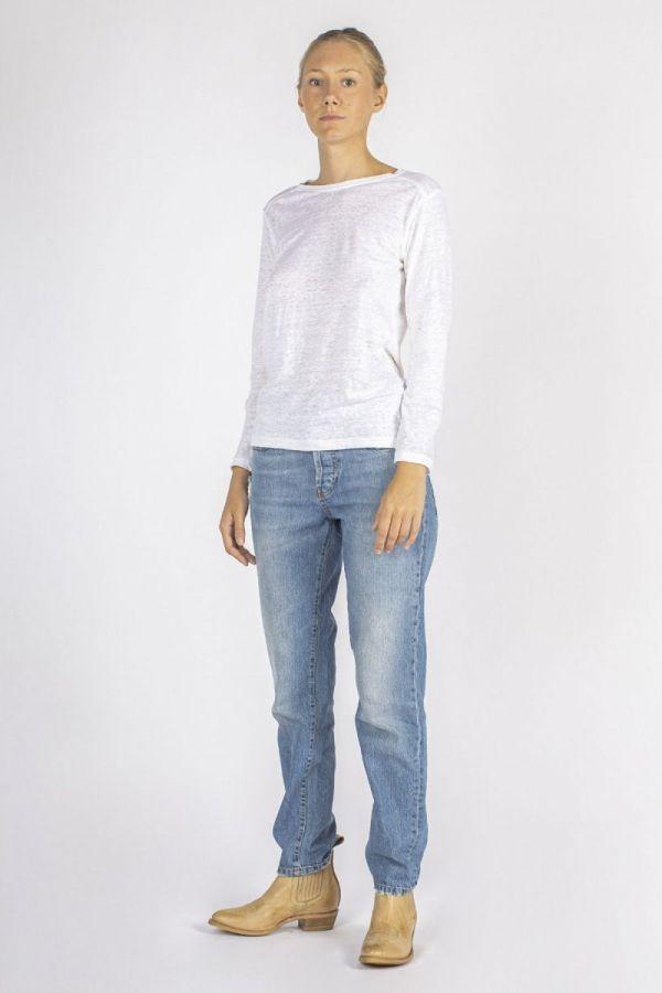 3D jumper - White